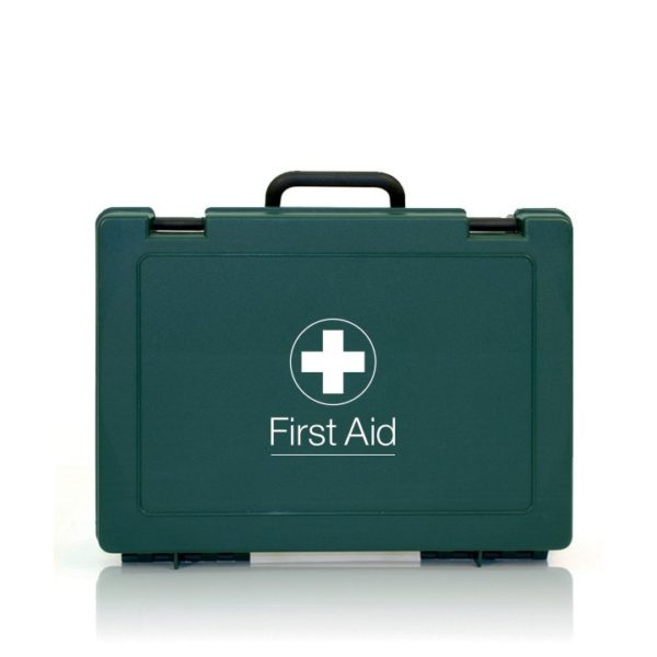 Catering First Aid Kits (Workplace HSE Compliant) Green Standard Box - Various Sizes