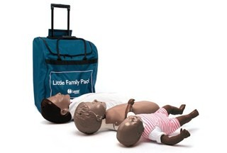 Little Family Manikin QCPR - 3 Pack in Carry Case