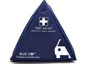 MOTORIST FIRST AID KIT -BLUE TRIANGULAR BAG - BS 8599-2