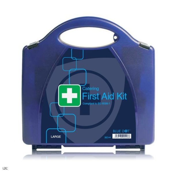 Blue Eclipse Catering First Aid Kits (Workplace BS 8599 Conforming) Various Sizes